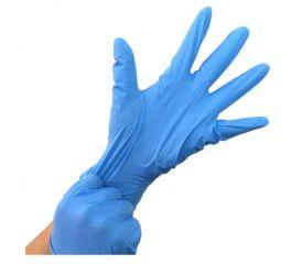 Guanti in nitrile blu, non talcati | MedicoShop