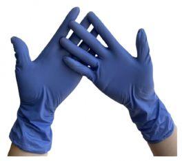 Guanti in vinile blu, non talcati | MedicoShop