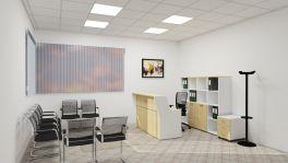 Set arredo reception premium acero| MedicoShop