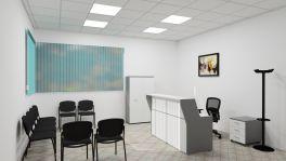 Set arredo reception base bianco | MedicoShop