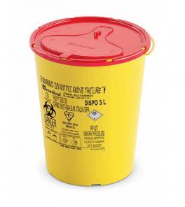 Contenitore per rifiuti speciali sanitari - 3 Lt