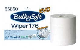 Bobina carta asciugamani Bulkysoft Classic Wiper 176 Evo 2 veli