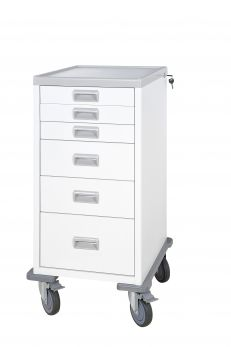 Carrello Ospedaliero Mini a 6 cassetti
