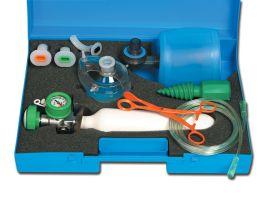 """Kit rianimazione in valigetta """"SPEED 1"""" con bombola ossigeno 0.5 lt UNI vuota"""