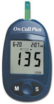 Misuratore di glicemia On Call Plus