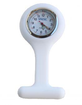 Orologio per infermieri da taschino - bianco
