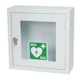 Armadietto Metallico Da Parete Per Defibrillatore con allarme