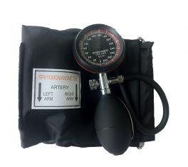 Sfigmomanometro Aneroide a 1 tubo con quadrante nero