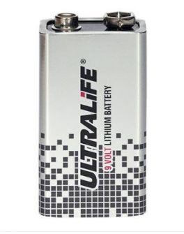 Batteria al litio 9V Defibtech Lifeline per indicatore di stato
