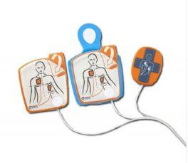 Piastre Cardiac Science Powerheart G5 con Pocket CPR