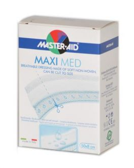Cerotto a taglio Maxi Med in TNT con compressa centrale