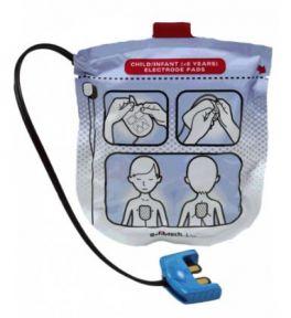 Piastre pediatriche per defibrillatore Defibtech Lifeline View