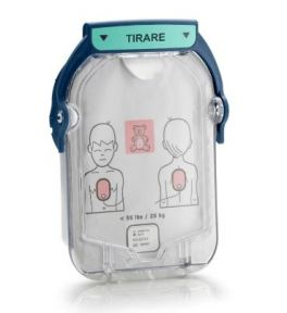 Piastre pediatriche defibrillatore Philips Heartstart HS1