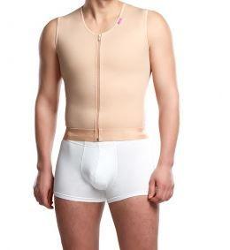 Guaina liposuzione uomo per torace, schiena e addome LIPOELASTIC