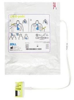 Piastre CPR-D per defibrillatori Zoll Modelli AED Plus e AED Pro