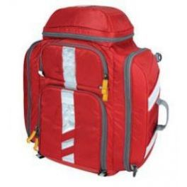 Zaino per emergenza in poliestere 600 D rosso