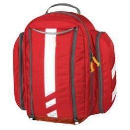 Zaino per emergenza in poliestere 600 D rosso impermeabile