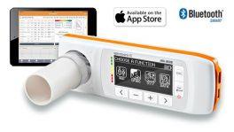 Spirometro per iPad con opzione ossimetro