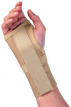 Tutore Polifix per polso, elastico con stecca palmare