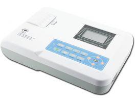 ECG Contec 100 G con 1 canale, con display lcd e stampante