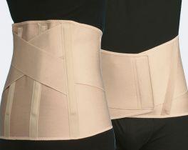 Fascia lombare elastica per donna TIELLE CAMP Alta 30 cm Mis L
