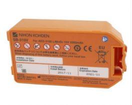 Batteria per defibrillatore AED 3100 Nihon Kohden al litio