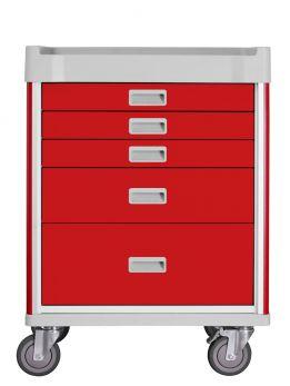 Carrello Emergenza a 5 cassetti