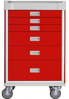 Carrello Emergenza a 6 cassetti - XLARGE