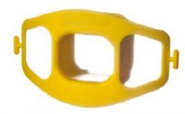 Boccaglio monouso per endoscopia, con lacci