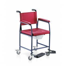 Sedia Comoda 232 Suracina con Wc e rotelle