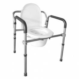 Sedia comoda 4 in 1 pieghevole in alluminio INTERMED
