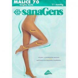 Collant a compressione graduata Sanagenz Malice 70 Opaq coprenti