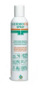 Spray disinfettante Germocid, battericida ambienti e superfici
