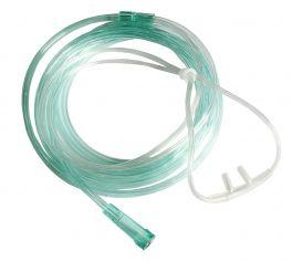 Occhialini per ossigenoterapia con forcella nasale morbida