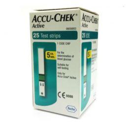 Strisce reattive Accu-Check Active by ROCHE