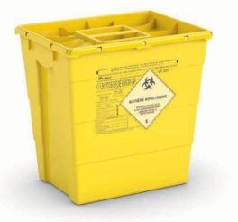 Contenitore per rifiuti speciali con doppio coperchio - 30 Lt