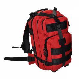 Zaino per emergenza in poliestere 600D - colore rosso