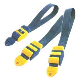 Laccio emostatico in tessuto elastico, con bloccaggio manuale
