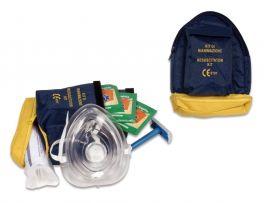 Kit rianimazione PVS® per defibrillatore, completo di custodia