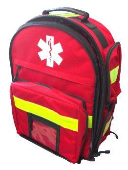 Zaino per emergenza in poliestre 600 D rosso VINCAL
