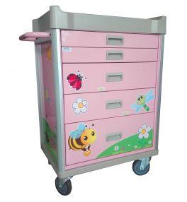 carrello pediatrico per terapia