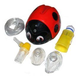 Aerosol per bambini Coccinella con kit e borsa | FLAEM®