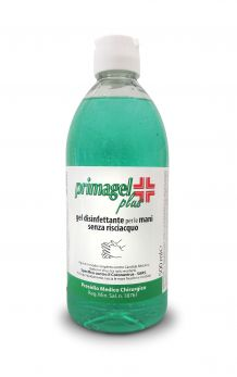 PRIMAGEL PLUS Gel disinfettante alcolico | Flacone 500 ml
