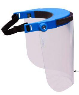 Visiera protettiva per protezione occhi e viso