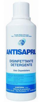 """""""ANTISAPRIL"""" DETERGENTE/DISINFETTANTE (BLU) IN FLACONE DA 1 LT"""