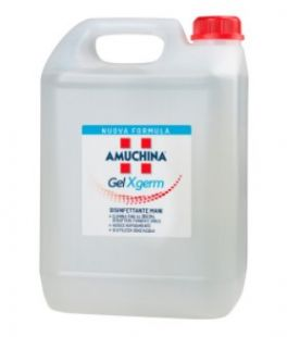Amuchina gel igienizzante mani X-GERM - Tanica da 5 Lt