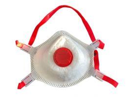 Mascherina facciale filtrante FFP3 con valvola - CF da 10 pz