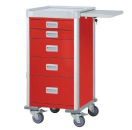 carrello-emergenza-nc-5-cassetti-large-rosso