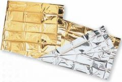 Coperta Isotermica oro/argento