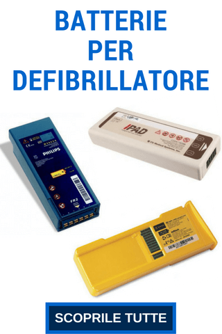 batteria per defibrillatore MedicoShop